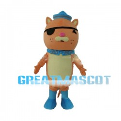 Adult Size Octonauts Kwazii Mascot Cartoon Character Costume