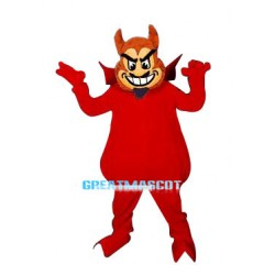 Red Sun Devil Mascot Adult Costume