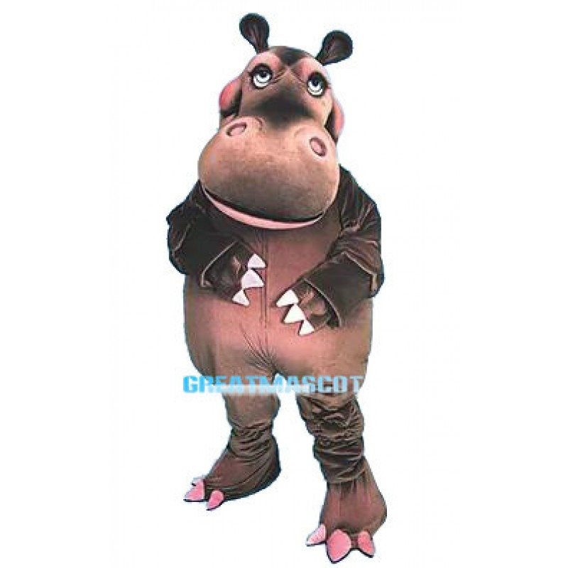 Hippo Animal Mascot Costume