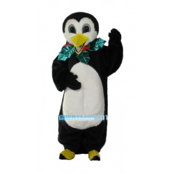 New Custom Made Holiday Penguin Mascot Adult Costume