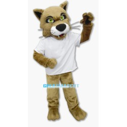 University Fierce Wildcat Mascot Costume