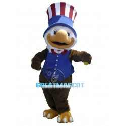 Cute L.A. Olympics Eagle Mascot Costume