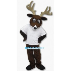 Whitetail Deer Mascot Costume