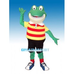 Lovely Froggy Mascot Costume