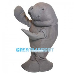 Cincy Zoo Manatee Lightweight Mascot Adult Costume