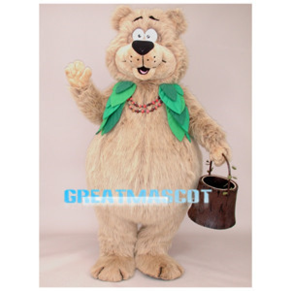 Cute Berry Bear Mascot Adult Costume