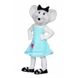 Imaginative Cartoon Babymouse Mascot Adult Costume
