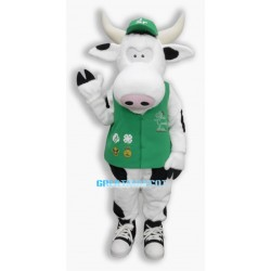 2nd Version Of The Cow Mascot Adult Costume