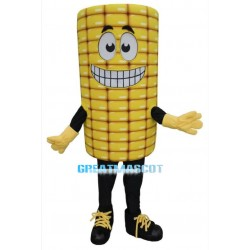 2nd Version Of Cartoon Corn Mascot Adult Costume