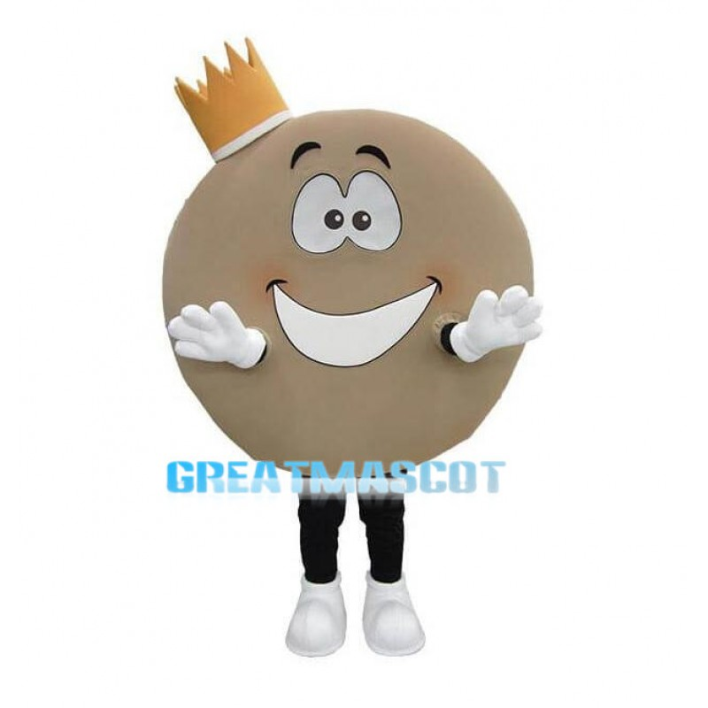 Cartoon Pancake Queen Lightweight Mascot Adult Costume
