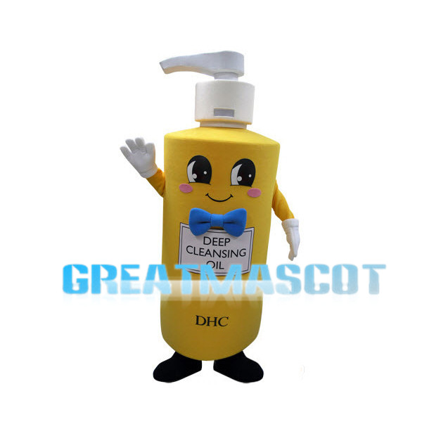 DHC Cleansing Oil Bottle Lightweight Mascot Costume Adult Size
