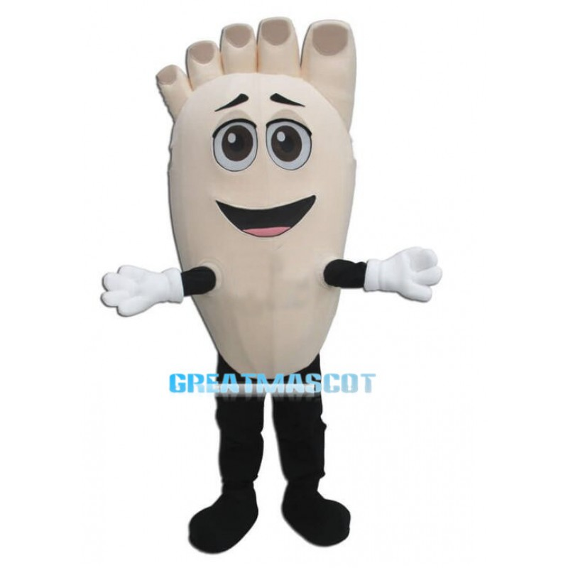 Adult Cartoon Foot Lightweight Mascot Costume