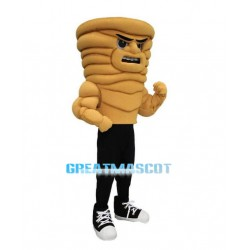 Angry Cartoon Power Cyclone Lightweight Mascot Adult Costume