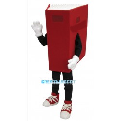 Lightweight Red Book Mascot Costume