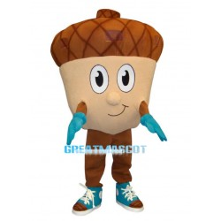 Adult Cartoon Acorn Lightweight Mascot Costume
