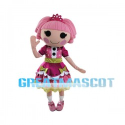 Lalaloopsy Jewel Sparkles Mascot Cartoon Character Costume Adult Size