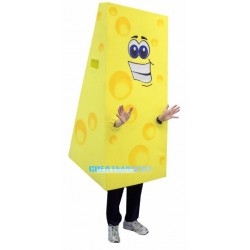 Huge Cartoon Cheese Lightweight Mascot Costume
