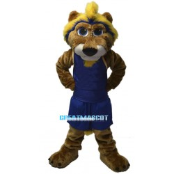 College Basketball Cougar Mascot Costume