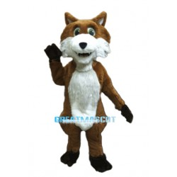 Friendly Fox Animal Mascot Costume