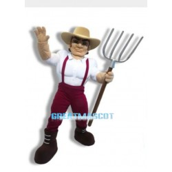Power Farmer Mascot Costume