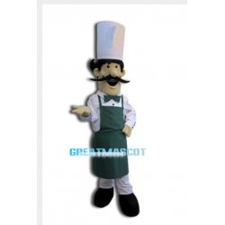 Long Beard Chef Mascot Costume