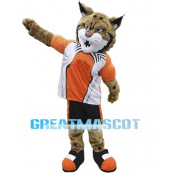 Fierce Power Wildcat Sports School Mascot Costume