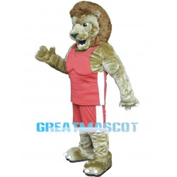 Fierce Power Lion Sports School Mascot Costume