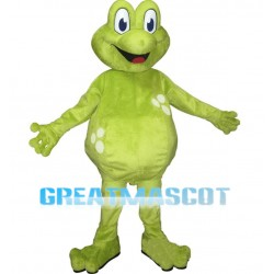 4nd Version Of The Frog Mascot Adult Costume