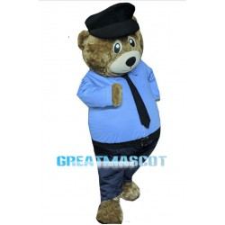 Teddy Bear Sheriff Mascot Costume