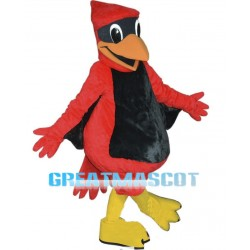 2nd Version Of The Red Hawk Mascot Adult Costume