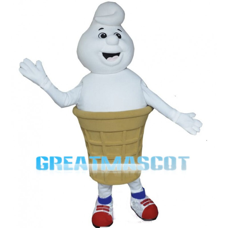 Cartoon Ice Cream Cone Lightweight Mascot Costume