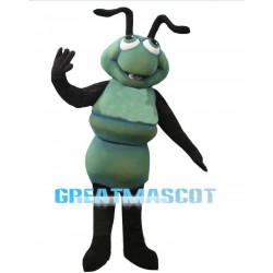Lovely Cartoon Green Ant Mascot Adult Costume