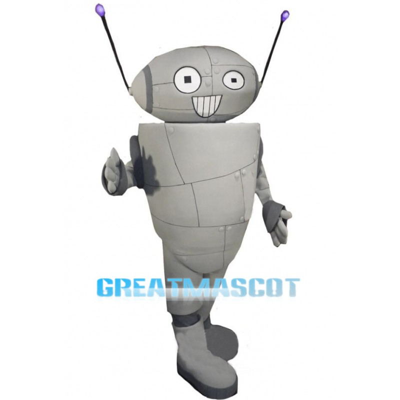 Cartoon Robot Mascot Costume