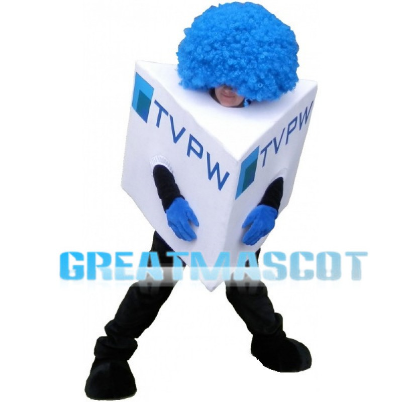 Giant TV Station Microphone Lightweight Mascot Adult Costume