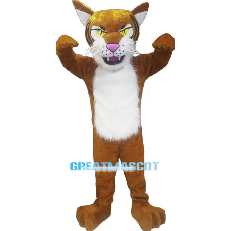 New Custom Made Fierce Tiger Mascot Costume
