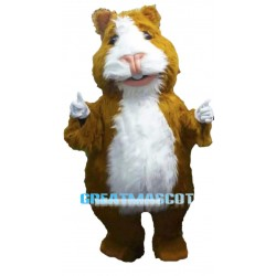 Long Fur Hamster Mascot Costume