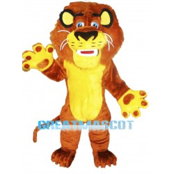 Panic Alex The Lion Mascot Costume