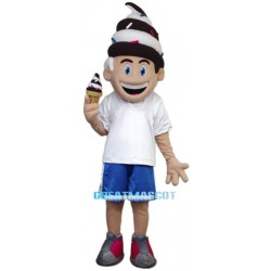 Cartoon Cone Boy Mascot Costume
