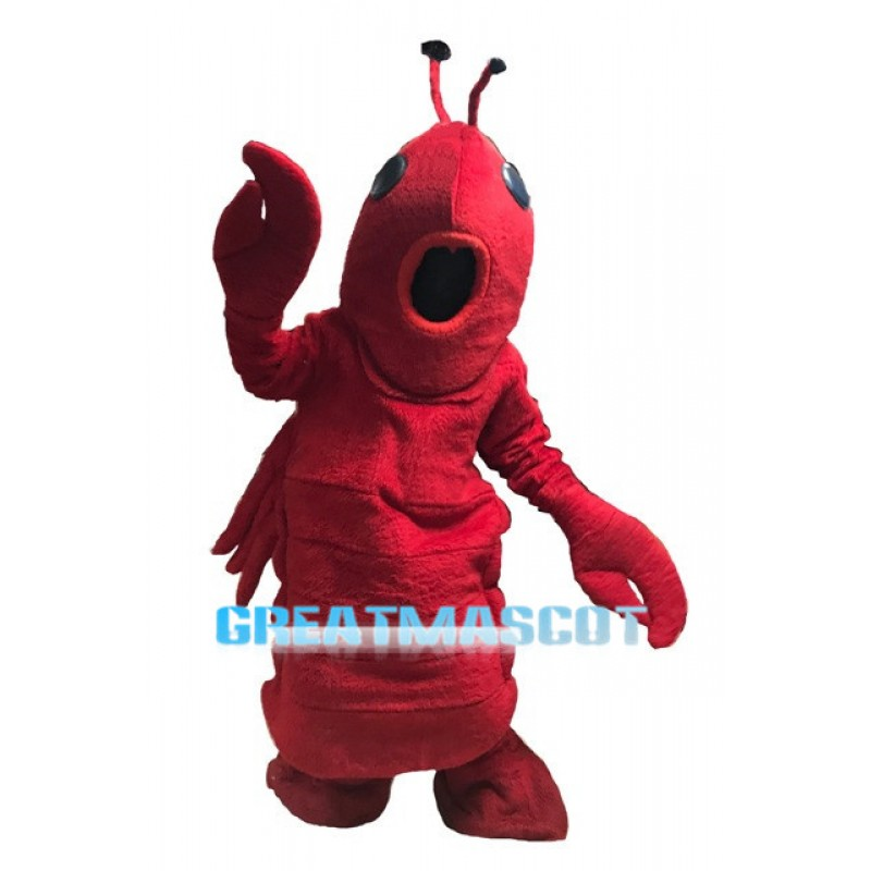2nd Version Of The Lobster Mascot Adult Costume
