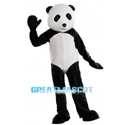 3nd Version Of The Panda Mascot Adult Costume