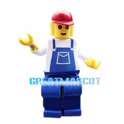 Lego Engineer Mascot Costume