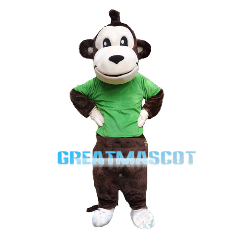 Naughty Big Mouth Monkey Mascot Costume