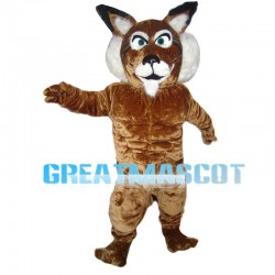Strong Tiger With Muscle Mascot Costume