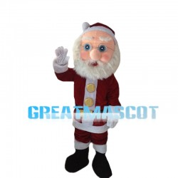 Big Nose Santa Claus Mascot Costume