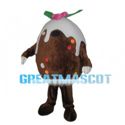 Ice Cream Chocolate Bean Mascot Costume