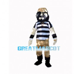 Abominable One-eyed Robber Mascot Costume