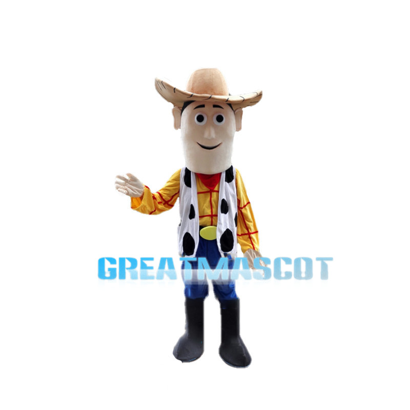 Justice Cowboy Sheriff Woody Mascot Costume