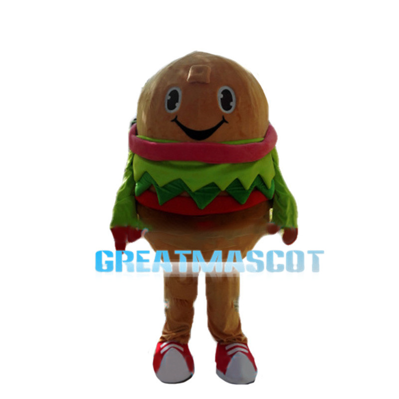 Vegetable Chicken Burger Mascot Costume