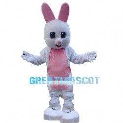 Innocent Weak White Rabbit Mascot Costume