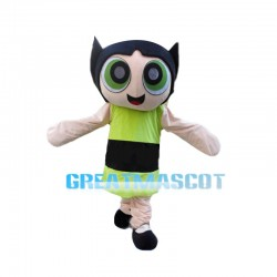 The Jealous Powerpuff Girls Mascot Costume